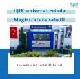 Işık Universitetində Magistratura Təhsili
