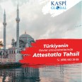Kaspi Global - Türkiyədə Attestat və DİM balı ilə təhsil