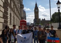 London Yay məktəbi uğurla başa çatmışdır!
